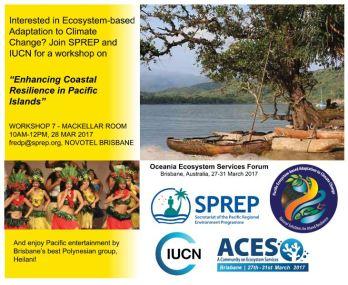 Pacific Coastal resilience framework_workshop