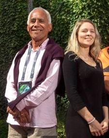 Kai Rotorua: Te Rangikaheke Kiripatea and Jasmin Jackson. Photo by Ben Fraser (NZ ME).